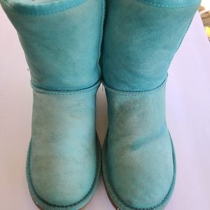 UGG Blue Boots Size 8